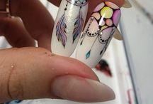 watercolor aquarelle nails