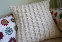 Crochet pillows/blankets / by Lily Bergeron