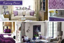 COLOR: Purple Home Decor