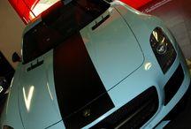 """Mercedes Benz SLS cambio de color a Celeste """"Gulf"""" Car Wrapping by Pronto Rotulo since 1993 / Buscando un poco de historia parece que el Celeste Gulf de los famosos Porsche 917 de LeMans se vienen actualizando y por ende nuestro """"humilde"""" recuerdo a ellos mediante el uso de su particular color en este espectacular SLS.  Vinilado integral del coche con material MACtac, incluye detalles en Negro Mate exteriores e interiores.  + info en prontorotulo.com/ + info en facebook.com/prontorotulo + info en twitter.com/prontorotulo + info en youtube.com/prontorotulo / by Pronto Rotulo"""