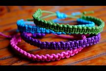 knotted bracelets