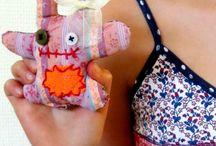Doedels (mini knuffeltjes) Maken / leuke mini knuffeltjes maken met kinderen
