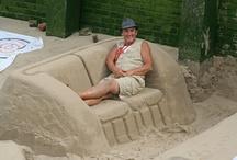 Sand sofà - divani di sabbia / Mare sole e divani di sabbia