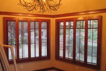 Interior Plantation Shutters / Interior Plantation Shutters Features, the two types of Interior Plantation Shutters that we offer are Polycore & Lexwood.  Polycore is the world's only solid synthetic polymer shutter with internal aluminum core reinforcement in the rails, stiles, and louvers.   Lexwood is a premium basswood shutter. They are built with traditional hand craftsmanship along with the newest technology for a precision design and consistent quality control.
