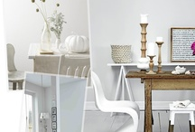 Winter White / Inspired by @Plascon Trends Colour of the Month for July.