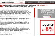 Agrosoluciones HSBC / Tipo de proyecto: sitio de internet y versión móvil Tecnologías aplicadas: HTML/CSS/JS http://www.hsbc.com.mx/1/2/es/empresas/agrosoluciones Diseñado por: Grey México Desarrollado para: HSBC Descripción: Sitio para promover un producto financiero