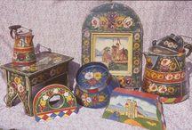 Obiecte pictate