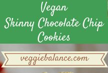Vegan cookies and muffins