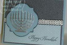 Cards Hanukkah