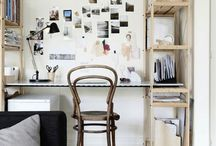 HOME / STUDIO workspace / to be happy, we should surround ourselves with lovely things and work in a creative, inspiring space - ideas and inspiration for your own home office / workspace