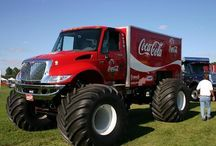 Tractor Trailers & Heavy Trucks / Very interesting units for work & for show!! / by Dan Goodine