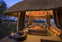 Luxury Africa Accommodation / African Accommodation can be inspiring, there are few truly wild places with such amazing places to stay!