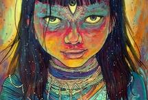 Art Spiritual Psychedelic Surrealism