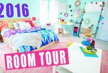 Room tour videos