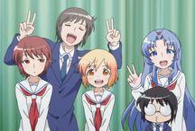 ♡K♡O♡T♡O♡U♡R♡A / •kotoura san •kotoura haruka •anime