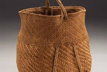 Baskets / wooden