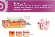 Fractora / BIPOLAR RADIO-FREQUENCY FRACTIONAL TREATMENT FOR SUPERIOR IMPROVEMENTS IN TEXTURE, WRINKLES, ACNE SCARS AND CONTRACTION.