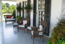 Porches and Patios / by Kristin Hill