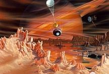 aliens / IMAGENS QUE MOSTRAM  POSIBILIDADES DE VIDA NO SISTEMA SOLAR