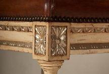 XVI. Lajos korabeli bútorok / Antik bútor, rokokó bútor, copf stílusú bútor, empire bútor
