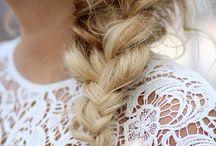 Konfimations hår