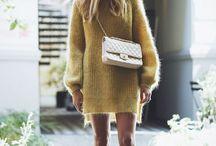 Вязание. Платье