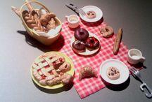 miniature food / miniature food for dollhouses