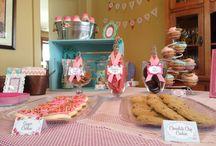Guilianna's 1st Birthday / Milk & Cookies!