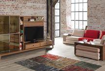 Modern Tv Üniteleri / Özel tasarlanıp her iç mekana uyum sağlayan duvar ünitelerimizi yakından inceleyin