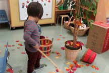 Autumn in the classroom
