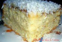 Gâteau mont blanc