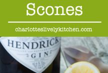 Scone Ideas / All about the humble scone - plain scones, fruit scones, chocolate scones.  you name it!