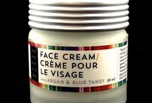 Face Cream / Handcrafted, non toxic, nourishing and anti aging. With organic argan oil and blue tansy