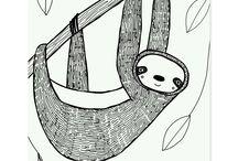 sloths)