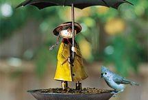 comedor para pássaro