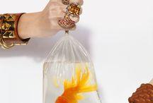 Рекламные образы ювелирных украшений.Advertising images jewelry / Полиграфия и изобразительные  идеи для рекламы ювелирных украшений.
