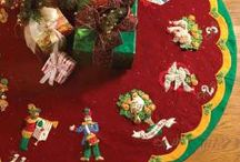 Bucilla Felt Christmas Tree Skirts