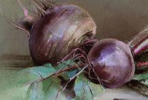 овощи , фрукты , мелкие бытовые зарисовки