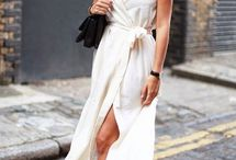 White Style Inspiration / All white styling