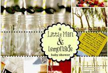 little mr (mustache) baby shower