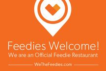Become a Ten Bompas Feedie! / Have you heard?  We are now an Official Feedie Restaurant! www.wethefeedie.com