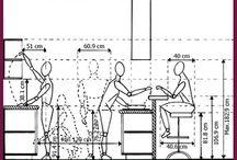 sedenie a priestor v kuchini