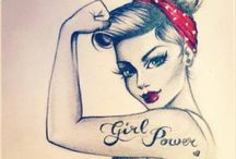 pinup tattoos / by Camilla Chatman