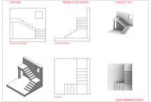CADTIDA T02 - ESCALERAS / Escaleras