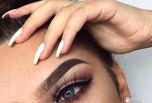 Brows makeup