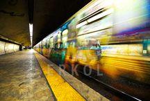 Underground trains HDR