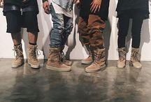 crepe boot yeezy