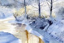Water colours I Love