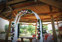 Galopp Major / Esküvő dekoráció a Galopp Majorban