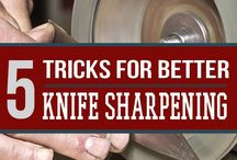 Knives / Knives & how to sharpen